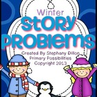 Winter Story Problem Printable Books