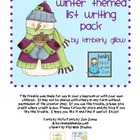 Winter Themed List Writing Pack