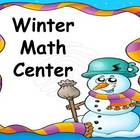 Winter Themed Math Center Games.2