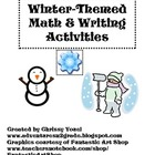Winter Themed Math and Writing Activities