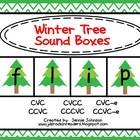Winter Tree Christmas Sound Boxes FREEBIE