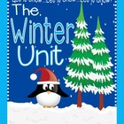 Winter Activities Unit: Winter Activities, Winter Centers,