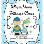 Winter Vowel Digraph Cards