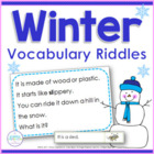 Winter Wonderings - 24 Riddles for Key Details and Inference
