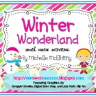 Winter Wonderland {Math Center Activities-1OA}