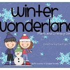 Winter Wonderland Math/Literacy Centers