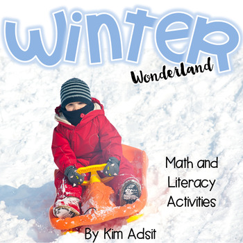 Winter Wonderland - Winter Games and Activities for Math a