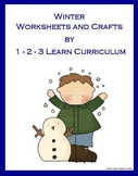 Winter Wonderland Worksheets and Crafts