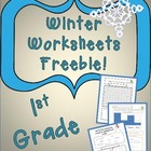 Winter Worksheet Freebie!