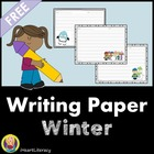 Free Winter Writing Pages
