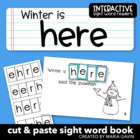 "Interactive Sight Word Reader ""Winter is Here"""