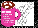 Winter/Holiday Procedural Text, Craftivity, Verb Game, Vocabulary