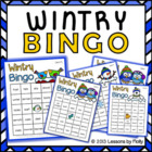 Wintry Bingo Color Version