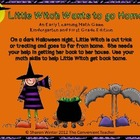 Witch Wants to go Home: A Math Addition Game for Kindergar