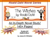 Witches Novel Study Roald Dahl 215+ Pages of Common Core M