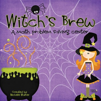 Witch's Brew: Math Problem Solving Center