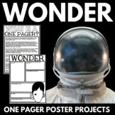 Wonder by R.J. Palacio - Novel Study with Questions, Vocab