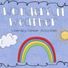 Wonderful Weather Literacy Activities
