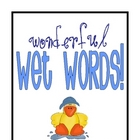 Wonderful Wet High Frequency Words