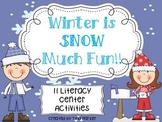 Wonderful Winter Literacy Activities