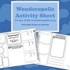 Wonderopolis Activity Sheet Trifold