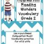 Wonders - McGraw-Hill Second Grade Vocabulary