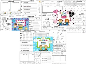 Wonders Reading for Kindergarten: Unit 3 BUNDLE Extension Activities