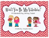 Won't You Be My Valentine? Literacy Packet