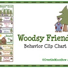 Woodsy Friends Behavior Clip Chart