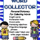 Word Collector- Personal Dictionary