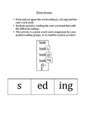 Word Endings and Verb Tenses: -s, -ed, -ing