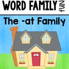 Word Families - At Family
