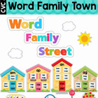 Word Families - Display Wall / Bulletin Board Display (Sho