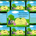 Word Families Down on the Farm Long & Short e  (SMARTBoard