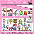 Word Families: R Blends Clip Art Value Pack - Personal or