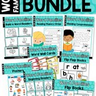Word Families - Short Vowel MEGA BUNDLE Part 2