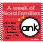 Word Family - ank family
