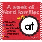 Word Family - at family