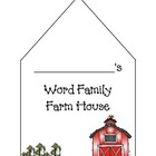 Word Family Farm House