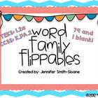 Word Family Flippables