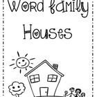 Word Family Houses Packet
