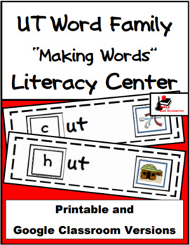 Word Family Making Words Center - UT Family