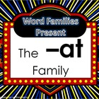 Word Family Packet (The -at Family)