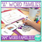 Word Family Practice -am Words