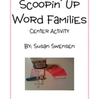 Word Family Scoop Center