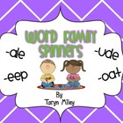 Word Family Spinner Station