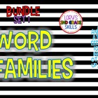 Word Family Units... Set 1 (20 word families)