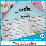 Word Family Printables {Entire Year}