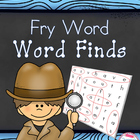 Fry Words Word Finds