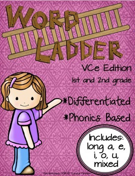 http://www.teacherspayteachers.com/Product/Word-Ladders-Vowel-Consonant-e-Edition-1st-and-2nd-grade-1038994